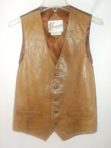 Vintage Lambskin Leather Berman