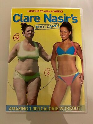 Clare Nasir Fitness (DVD, 2010) FAST DISPATCH UK
