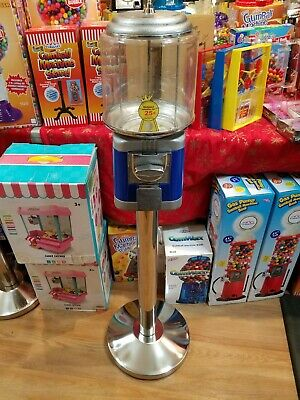 Used Richland Beaver Like Gumball Machine Ss Stand With Lock And Key Nice Ww