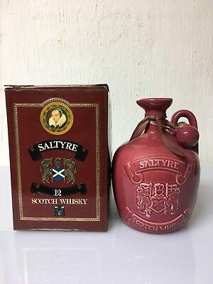 Saltyre 12yo Scotch Whisky Aird Blenders 75cl 40% Vol Vintage Ceramica Vintages