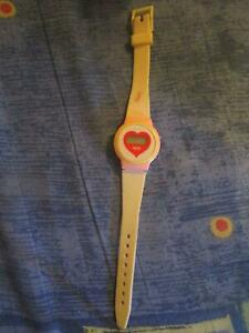 *Vintage* Girls Pink Watch (Needs New Battery)