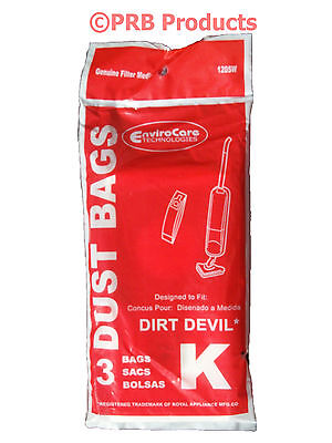 Royal Dirt Devil Broom Part No. 3320230001 Type K Vacuum Cle