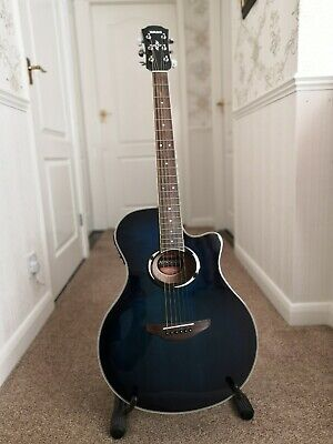 Deep Blue - Yamaha APX500 III Electric Acoustic Guitar