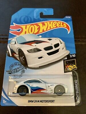 Hot Wheels 2020 •  Nightburnerz • BMW Z4 M MOTORSPORT • White • Case J • #172
