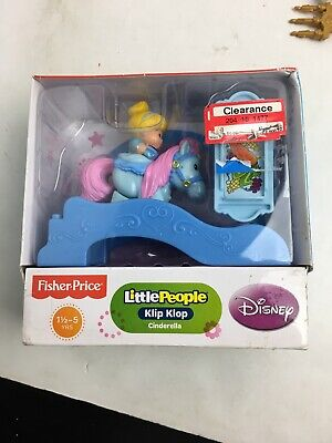 Fisher Price Little People Klip Klop Cinderella New 2013