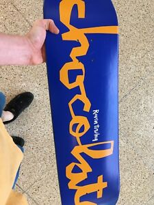Brand new never been used Chocolate skateboard deck 8.25