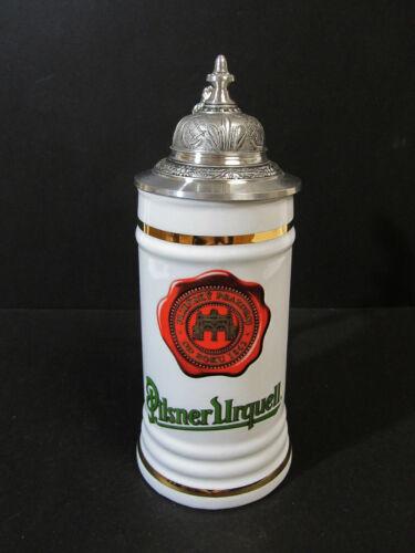 Korbely BM & MM Holysov Pilsner Urquell Ceramic Beer Stein