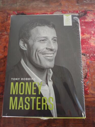 Anthony Tony Robbins Money Masters Series 12 DVD & 12 CD Complete Box Set Sealed