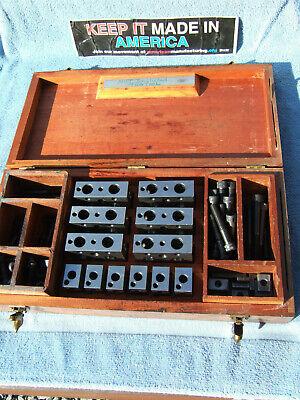 Moore Tool Co. Blocks 12 Blocks Parallels Toolmaker Machinist Inspection Qa