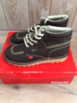 Originals KICKERS Mens Brown Boots Size Eu 42 - Uk 8