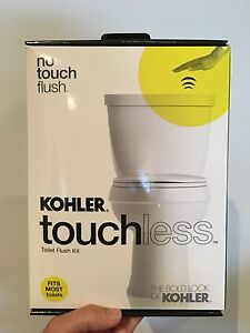 Kohler touchless Toilet Flush Kit