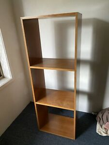 Moving Sale!!! Brown cube shelf