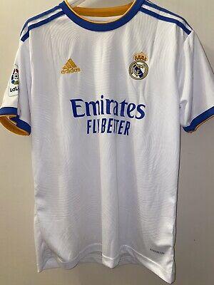 Maglia Adidas Real Madrid Liga Spagnola 2021 2022 Benzema 9 Taglia L