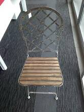 BRAND NEW OUTDOOR QUALITY FURNITURE WOODEN/METAL CHAIR Liverpool Liverpool Area Preview