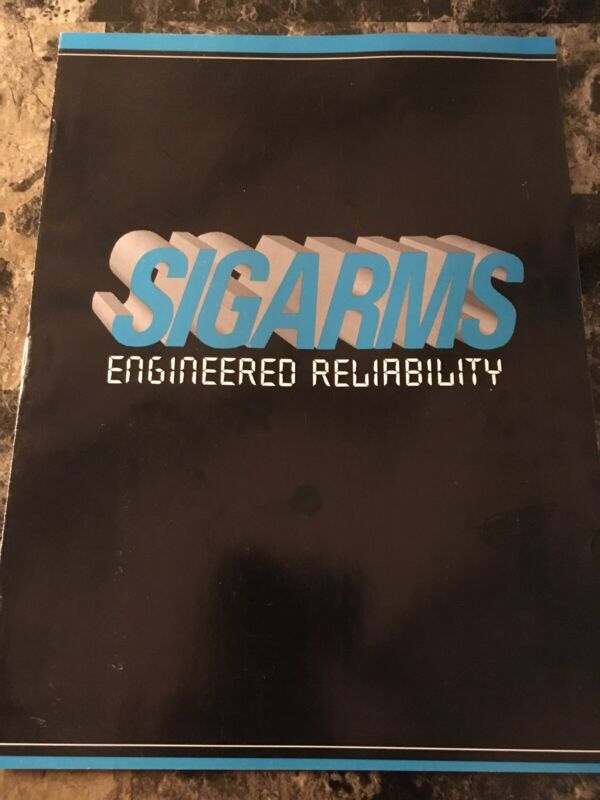 SIGARMS Firearms Catalog