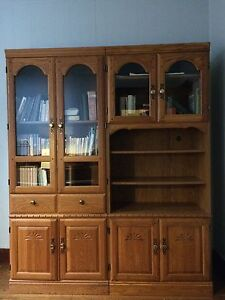 Two part unit. Beautiful used separated or together!