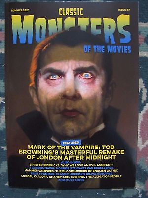 CLASSIC MONSTERS Magazine #7:(UK) Mark Of The Vampire & London After Midnight
