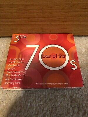 Best of the 70's [Madacy 2005] [Digipak] by Various Artists (CD, Jul-2005, (Best Of The Best 3)