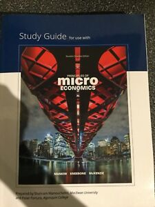 Principles of Microeconomics textbook and workbook