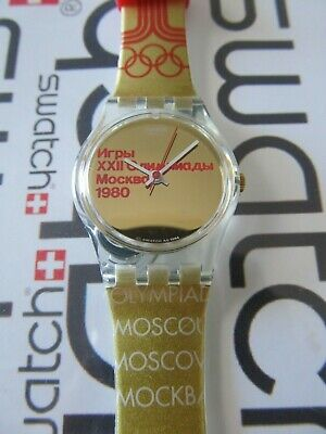 Swatch Moscu 1980 LZ103 Standard Ladies 25mm Olympic Special Atlanta 1996