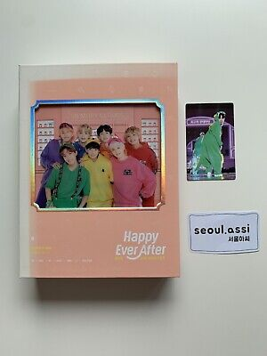 BTS 4th Muster Happy Ever After DVD With JHOPE & JIMIN Photocard