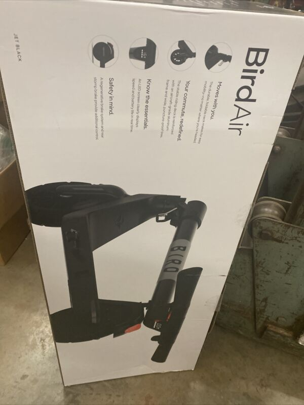 🛴 Bird Air Electric Scooter (New Release), Jet Black 2020 BRAND NEW Model!!!