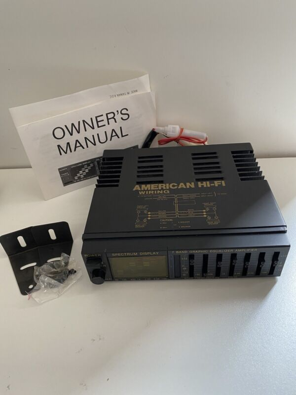 American Hi-fi EQ-35 Spectrum Booster With Synthesizer