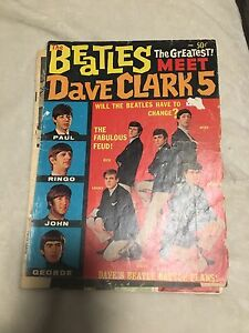 The Beatles/ Dave Clark 5 collectors magazine