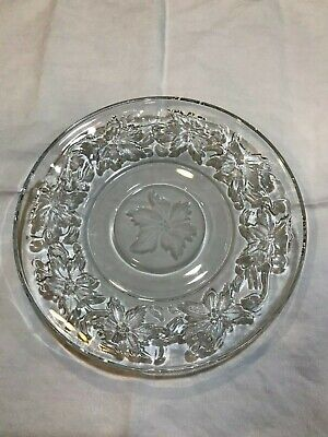 Princess House Fantasia Glassware (BREAD AND BUTTER PLATES - 6