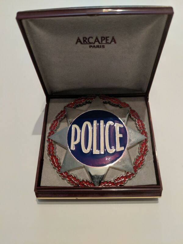 France French Police Badge. Sheriff