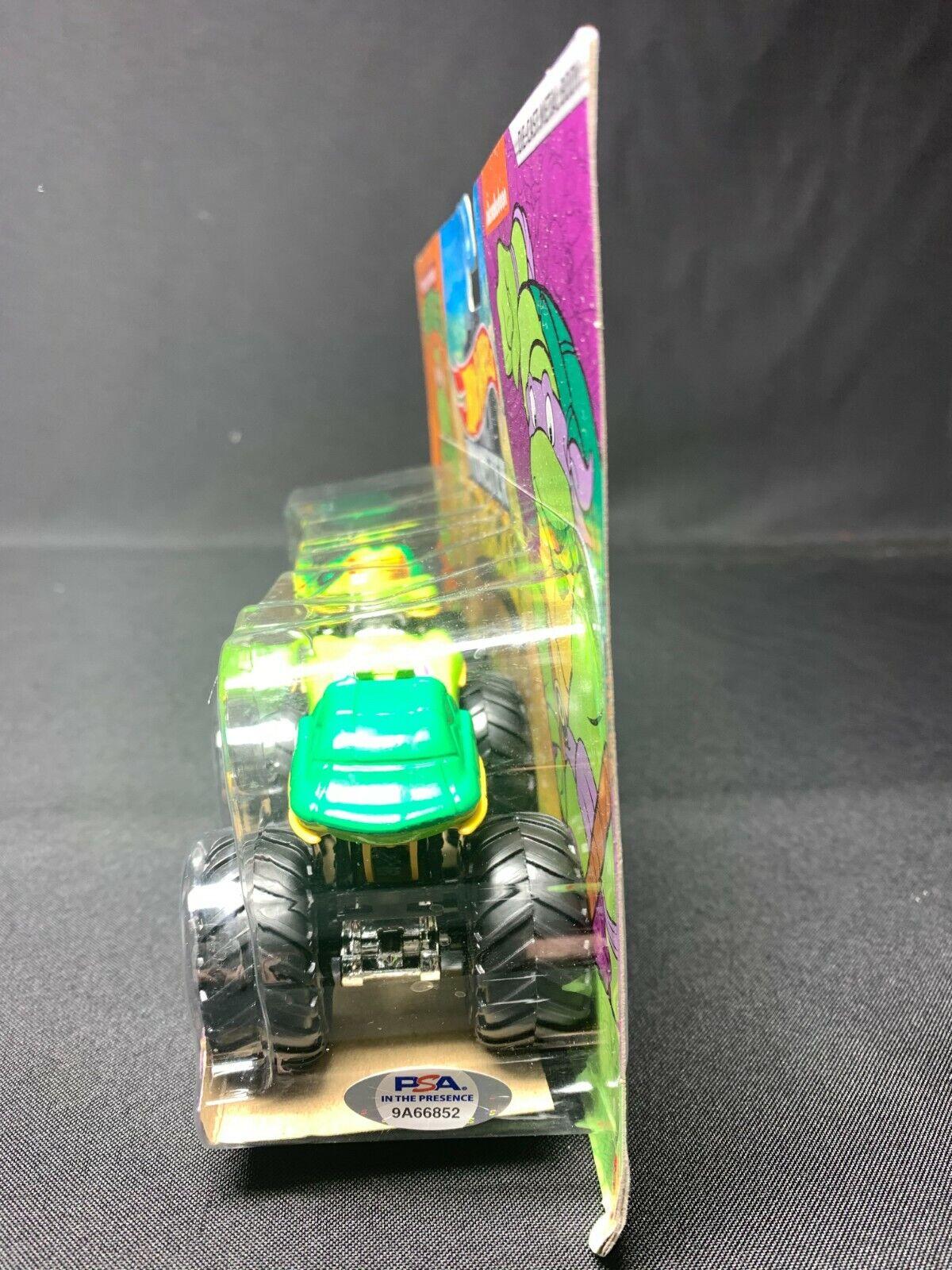 Kevin Eastman Signed Ninja Turtles Hot Wheels Truck PSA 9A66852 Donatello - $149.96
