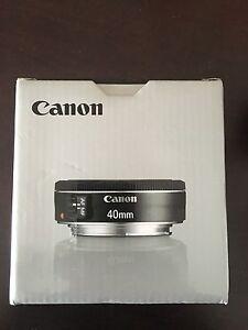 Canon 40mm Lense