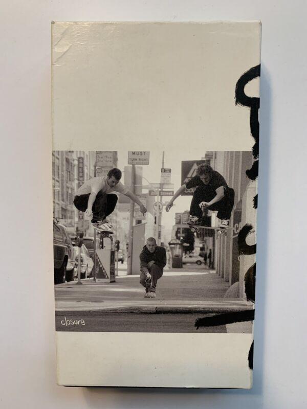 Closure - Retrospective By Dan Wolfe VHS Skate Video Skateboard Eastern Exposure