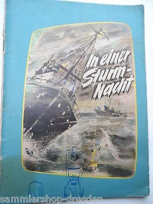 In einer Sturmnacht Chapajew und andere Verlag des MDI 1956 selten