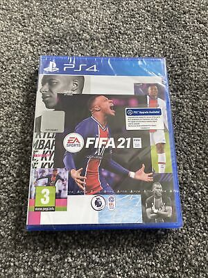 FIFA 21 PS4 PLAYSTATION 4 New/Sealed (Inc PS5 Free Upgrade)
