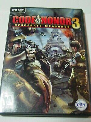 CODE OF HONOR 3 DESPERATE MEASURES  PC DVD-ROM
