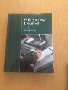 Legal office assistant textbooks