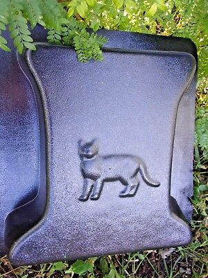 """Cat bench leg mold  3/16th"""" abs plastic kitty design mould for sale  Shipping to India"""