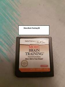DS Lite Brain Training Game For Sale Moonta Bay Copper Coast Preview