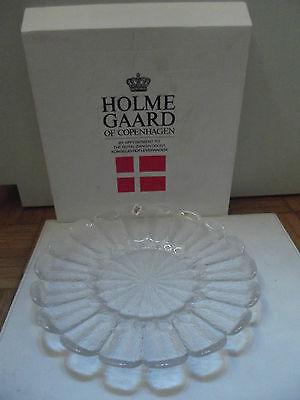 (S63) Holmegaard Schale Design Sidse Werner neuwertig in OVP Durchm. ca. 31 cm