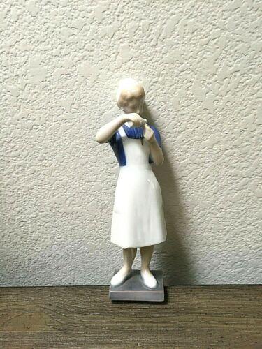 RARE **NURSE** Porcelain Figurine Denmark, Bing & Grondahl #2379 ~ Great Gift!!