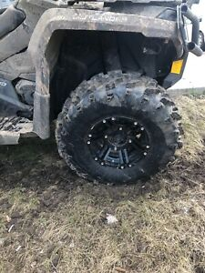 Swamp lite rims and tires