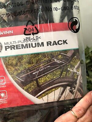 Schwinn Premium Bike Rack Rear Multi Purpose Elastic Band Cargo Holder ~NEW! Elastic Rear Band