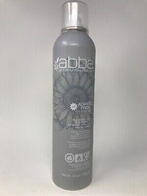 ABBA Always Fresh Dry Shampoo 8 oz Refresh Hair Between Washes