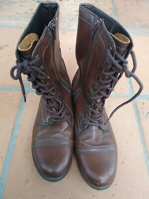 Steve Madden Troopa Boots Sz 10