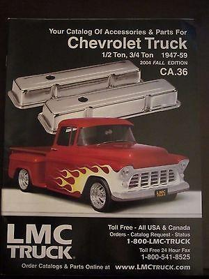 1947 - 1959 Chevrolet Truck Parts Accessories Catalog 2004 Fall -