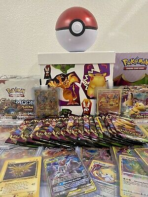 Pokemon Mystery Box - Booster Packs, Pokemon Cards, VMax ,Holos,Ex,Gx & More!