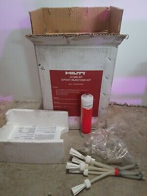Hilti Epoxy Glue Injectable Kit Ci 060ep 12 Tube 234ml Foundation Concrete