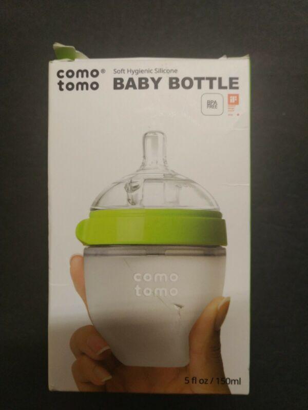 New!!! Como tomo Baby Bottle, Green, 8 Ounce/250ml