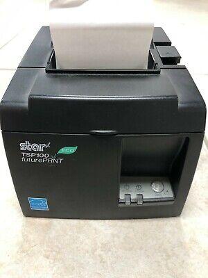 Star Tsp 100 Eco Futureprint Usb Receipt Printer